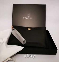 Versace Authentique Sac D'embrayage Méduse Marque Nouveau Dans La Boîte