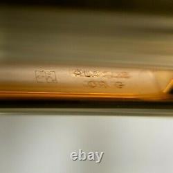 Vintage Authentic Must De Cartier Ballpoint Godron Gold Plaqué Avecbox&papers(nouveau)